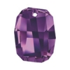Swarovski Pendant 6685 Graphic 28mm Amethyst